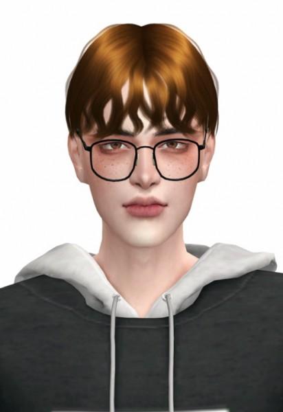 Lemon: Carter Hair for Sims 4