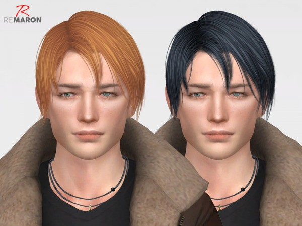 The Sims Resource: ON0105 Hair Retextured for Sims 4