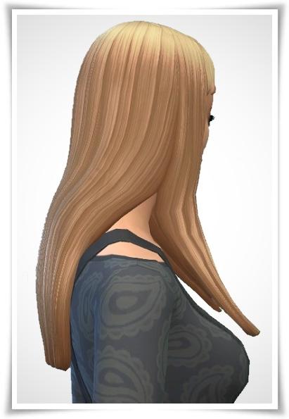 Birksches sims blog: Straight Hair Short Bangs for Sims 4