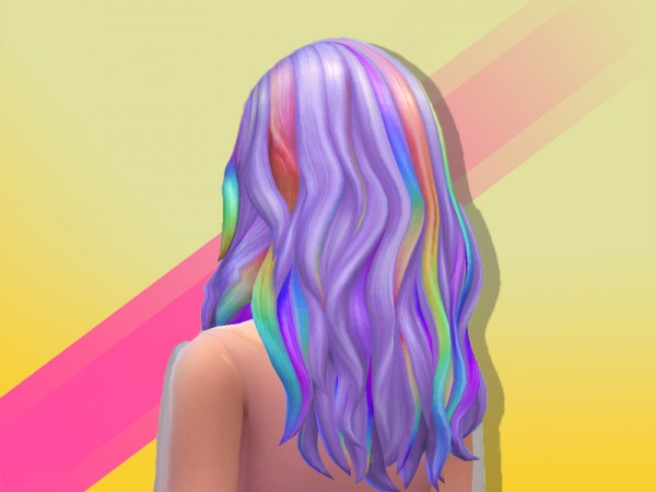 The Sims Resource: Kasey Hair by anastasiac21 for Sims 4