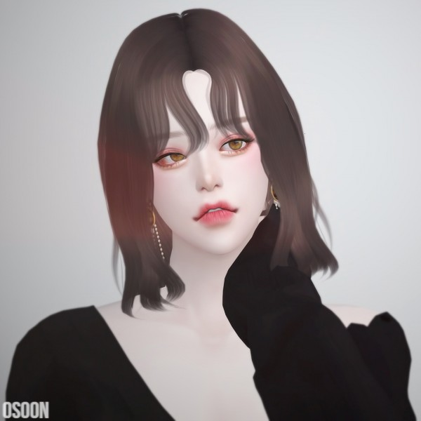 Osoon: Hair 08 for Sims 4