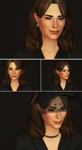 Rusty Nail: Kate Hair 2 for Sims 4