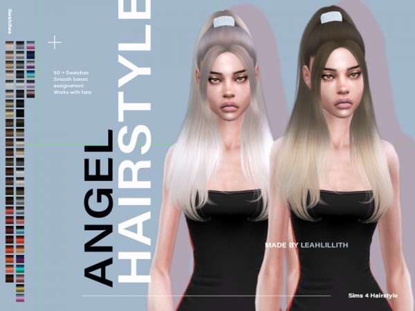 The Sims Resource: Angel Hair by Leah Lillith for Sims 4