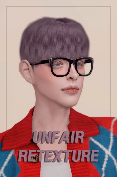 Oje Sims: Noah hair retextured for Sims 4