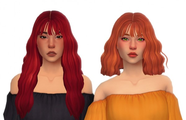 Simandy: Holy Hair for Sims 4