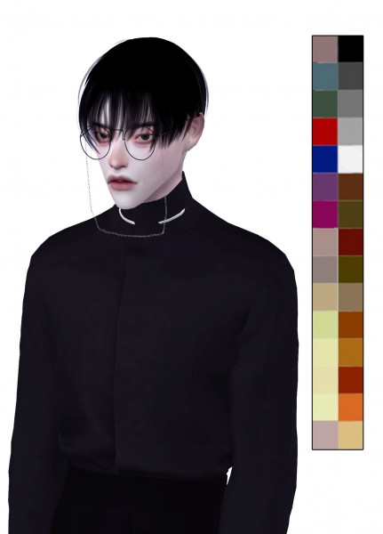 Snoopy: Obsession hair for Sims 4