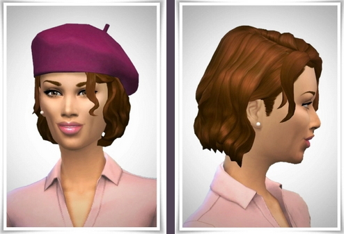 Birksches sims blog: Emilia Hair for Sims 4