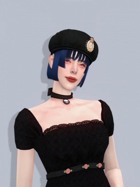 Oje Sims: Ishigugae Hair for Sims 4