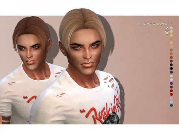 The Sims Resource: Nick hair by Nightcrawler for Sims 4