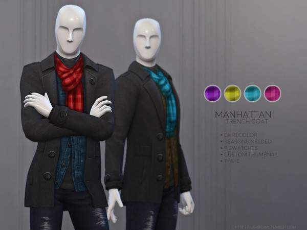 The Sims Resource: Runaway Hair Retextured by remaron for Sims 4