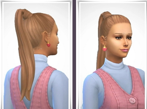 Birksches sims blog: Penny Hair for Sims 4