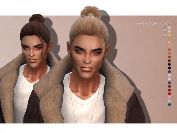 The Sims Resource: Faded Hair by Nightcrawler for Sims 4