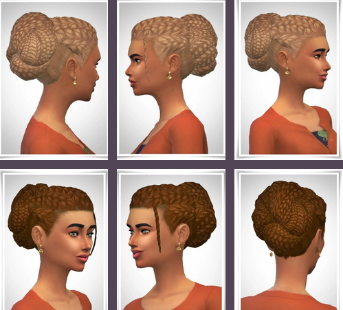 Birksches sims blog: Betty Hair for Sims 4