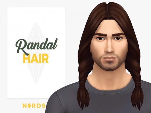 The Sims Resource: Randal Hair by Nords for Sims 4