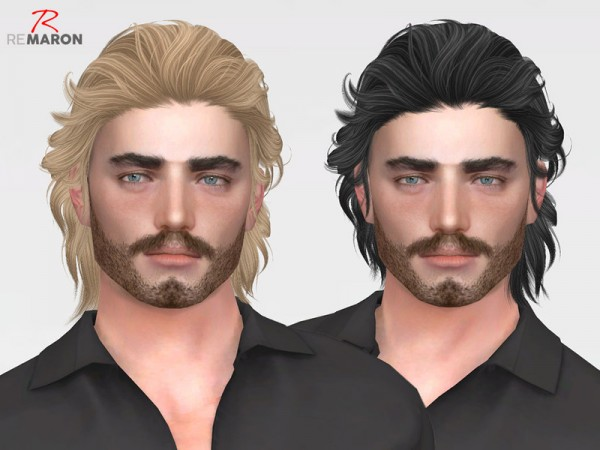 The Sims Resource: ON1208 Hair Retextured for Sims 4