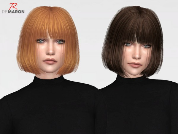 The Sims Resource Leahlillith S Crown Hair Retextured By Remaron Sims 4 Hairs
