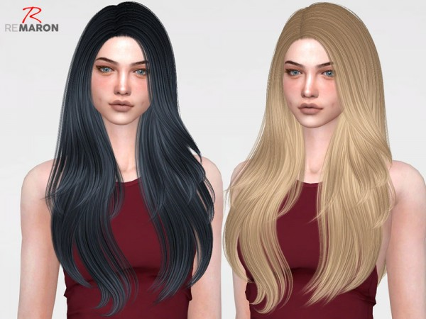 The Sims Resource: Nightcrawler`s Coins hair retextured by remaron for Sims 4