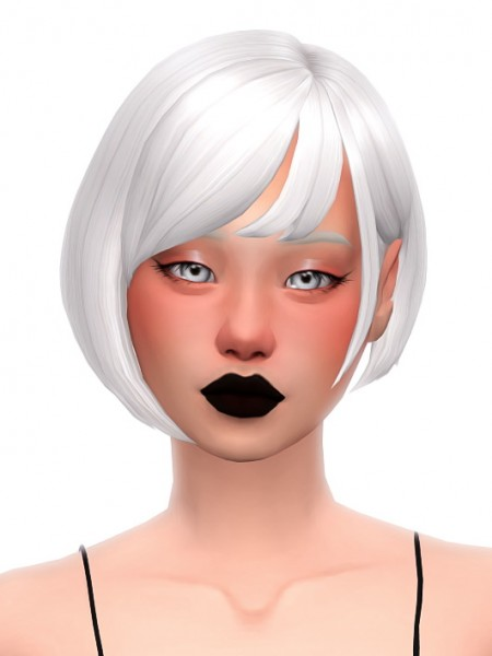 Simandy: Silver Hair for Sims 4