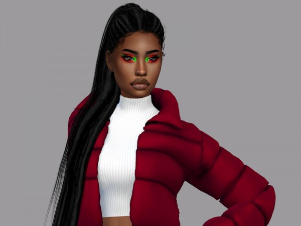 The Sims Resource: Royalty Hair Dreds Recolor by Teenageeaglerunner for Sims 4