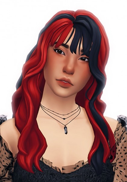 Simandy: Clarity Hair for Sims 4