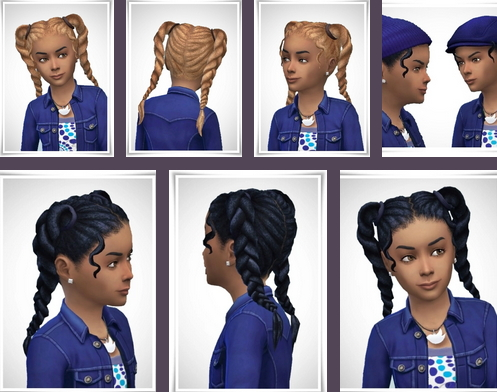 Birksches sims blog: Isabel Hair for Sims 4