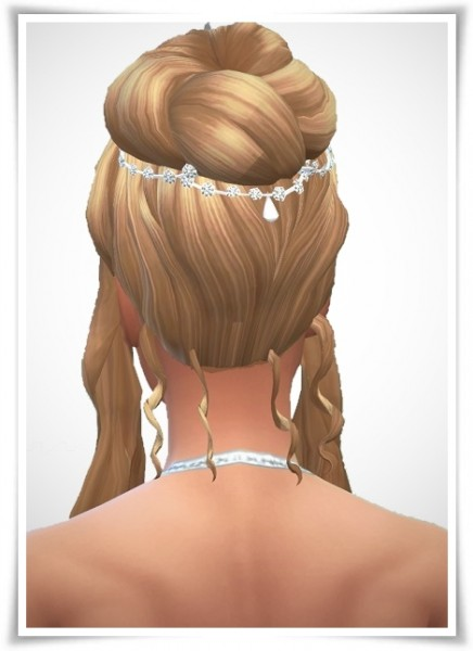 Birksches sims blog: Ashley WeddingHair for Sims 4