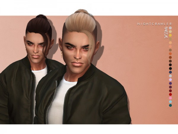 The Sims Resource: Baddie Hair by Nightcrawler for Sims 4