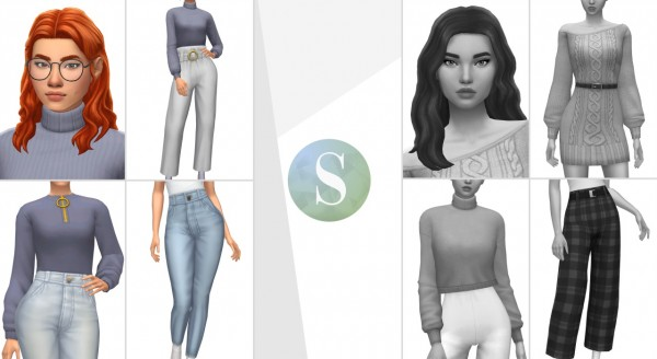 IMVikai: Sogue Winter Edition Hair for Sims 4