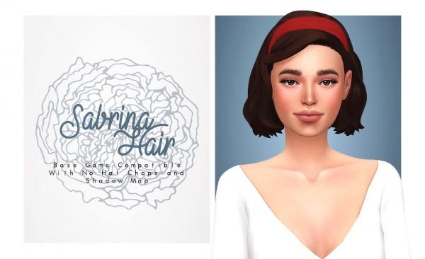 Isjao: Sabrina Hair for Sims 4