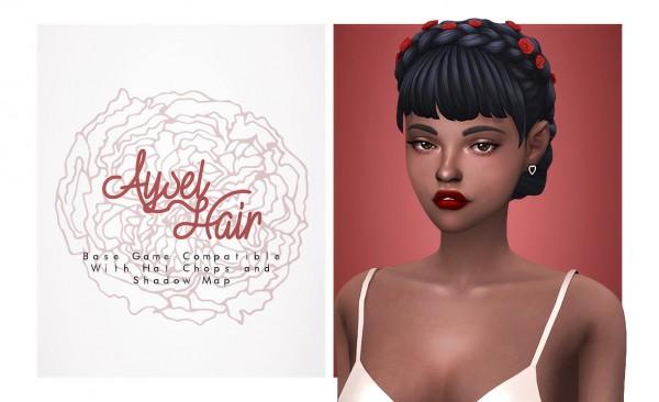 Isjao: Aysel Hair for Sims 4