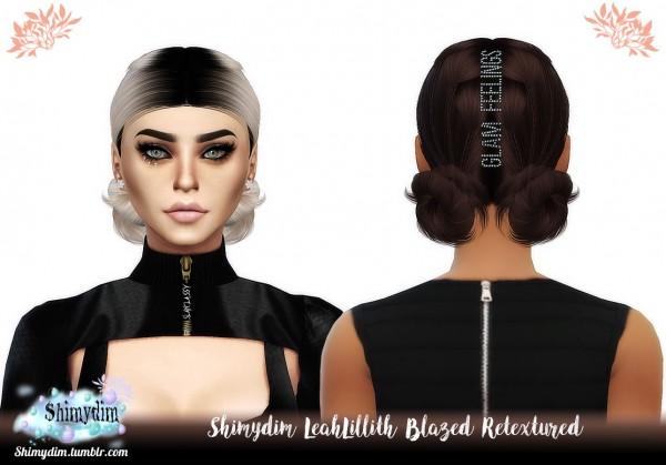 Shimydim: LeahLillith`d Blazed Hair Retextured for Sims 4