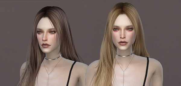 The Sims Resource: WINGS TZ0306 Hair for Sims 4