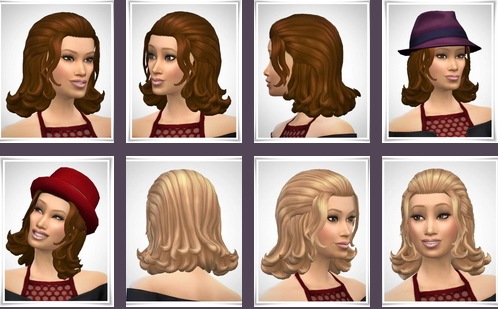 Birksches sims blog: Sia Hair for Sims 4