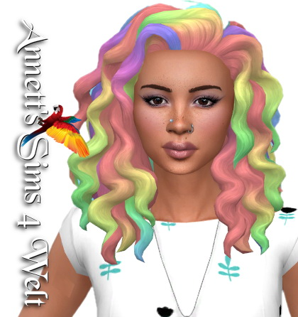 Annett`s Sims 4 Welt: Cats and Dogs Female Hair   Recolored for Sims 4