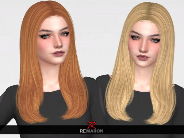 The Sims Resource: Nightcrawler`s Spicy Hair Retextured by remaron for Sims 4