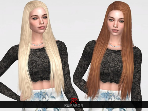 The Sims Resource: LeahLillith`s Starlette Hair Retextured by remaron for Sims 4