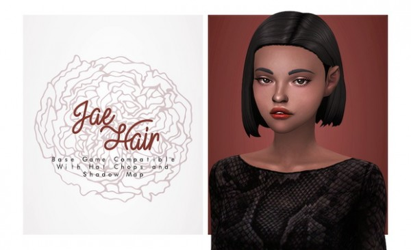Isjao: Jae Hair for Sims 4