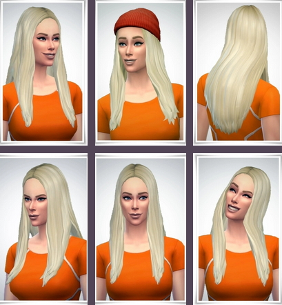 Birksches sims blog: Maisie Hair for Sims 4