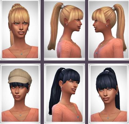 Birksches sims blog: Rachel Hair for Sims 4