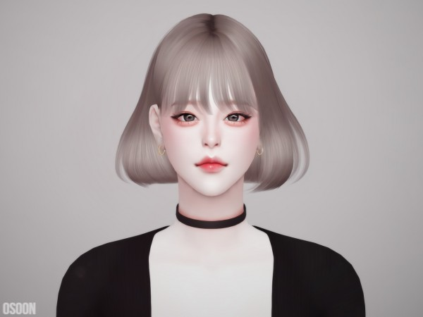Osoon: Hair 12 for Sims 4