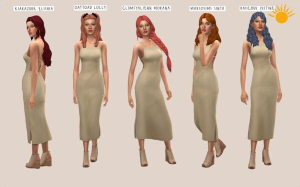 Simminginchi: Sundance Hairs Recolors part 2 for Sims 4