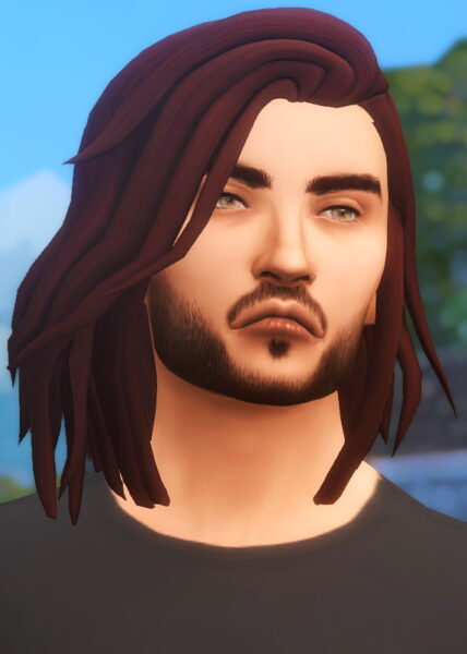 Kismet Sims: Oceans and Cloud Hair Retextured for Sims 4