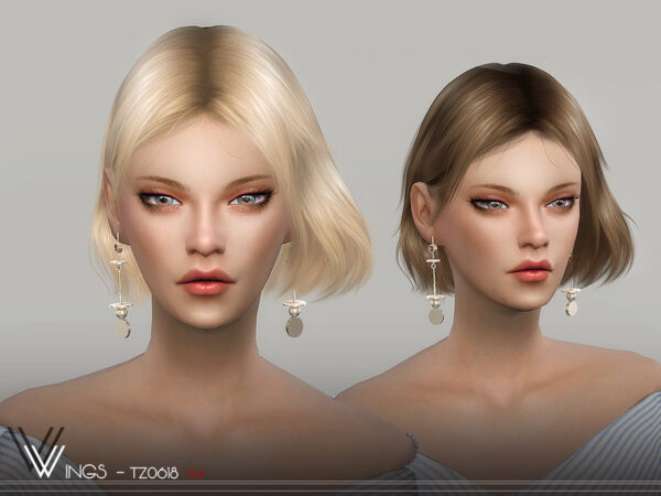 The Sims Resource: WINGS TZ0618 for Sims 4