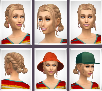 Birksches sims blog: April Hair for Sims 4