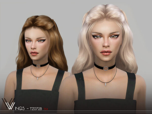The Sims Resource: WINGS TZ0728 for Sims 4