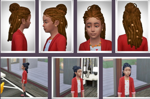 Birksches sims blog: Al by Kids Hair for Sims 4