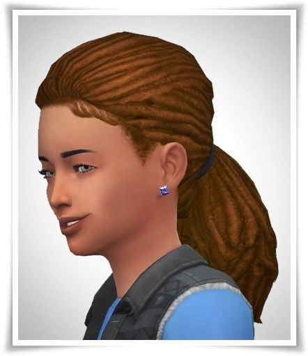 Birksches sims blog: Kiddis Morning Dreads for Sims 4