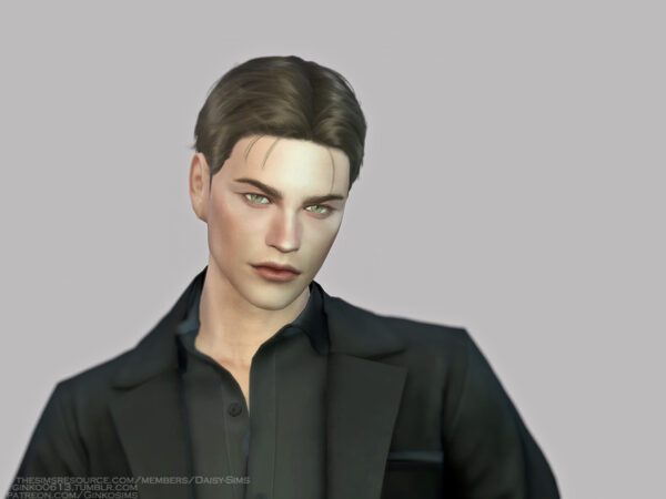 The Sims Resource: Male Hair G10 by Daisy Sims for Sims 4