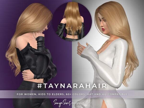 Sonya Sims: Tina and Taynara Hair for Sims 4