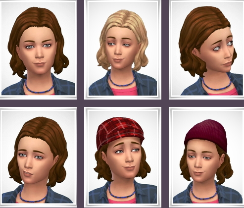 Birksches sims blog: Lewis Hairstyle For Boys for Sims 4